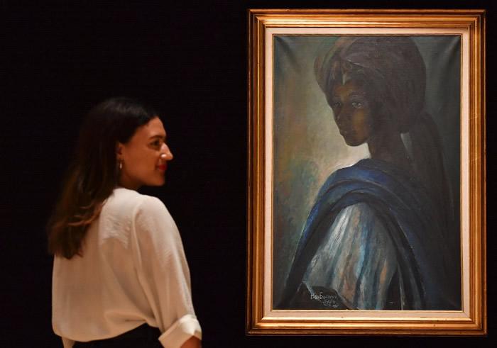 """尼日利亚艺术家Ben Enwonwu创作的""""非洲蒙罗丽莎""""以150万美元天价售出"""