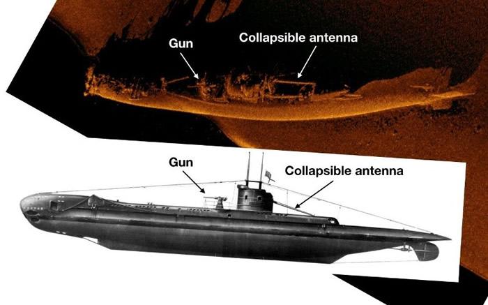 英国催促号(HMS Urge)潜艇于1942年二战期间在前往埃及途中失踪 77年后地中海寻获