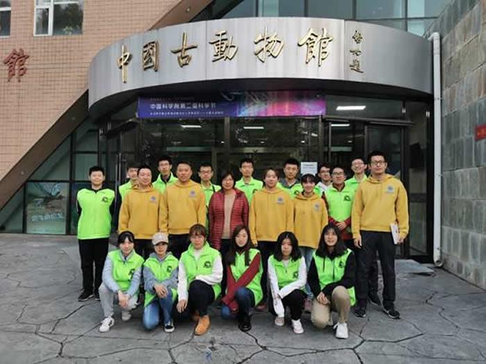 中国古动物馆系列科普活动亮相中国科学院第二届科学节