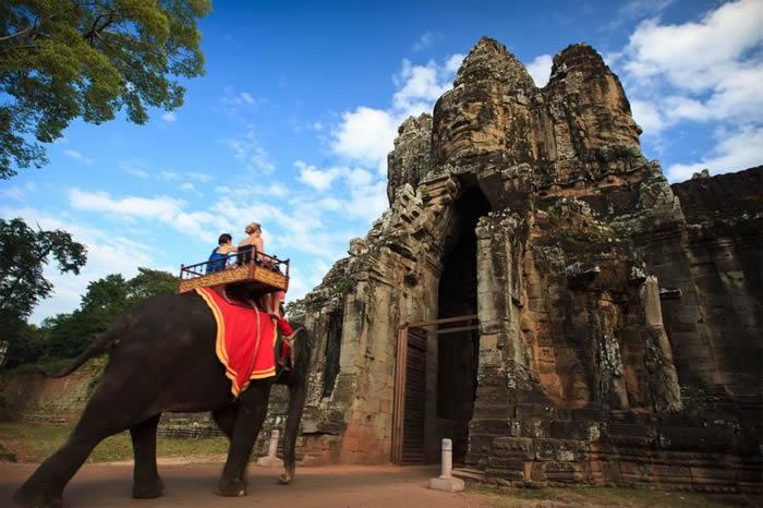 柬埔寨将在2020年全面禁止吴哥窟公园骑行大象