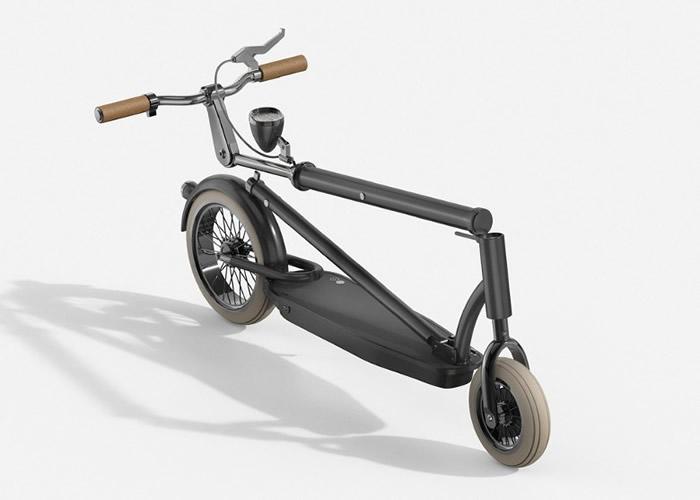 韩国工业设计师把Velocino与现代电动滑板车结合