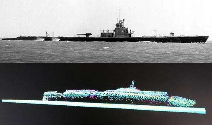 美军翻译出错遍寻不获 失踪75年二战潜艇灰鲸号(USS Grayback)重见天日