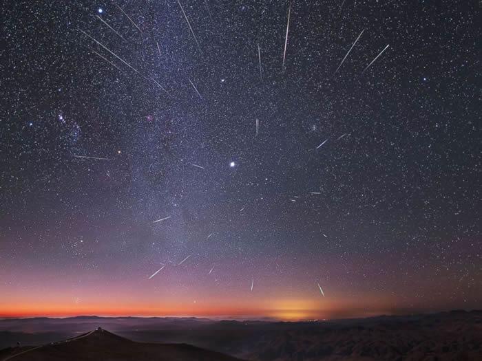 2019年12月14日双子座流星雨极大期