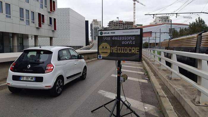 法国马赛地区公路试用探测污染汽车雷达