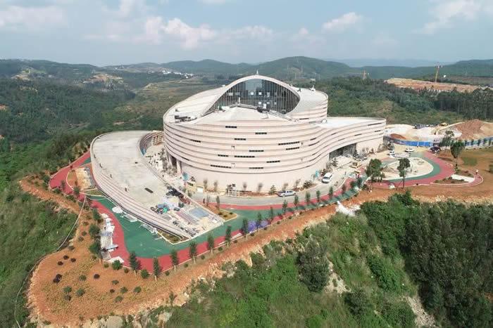 世界自然遗产云南澄江化石地自然博物馆基本建成