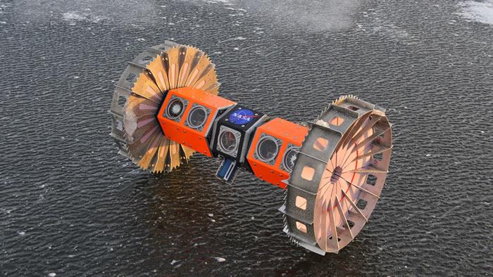 NASA将在南极测试用以寻找外星海洋生命的水陆两栖机器人
