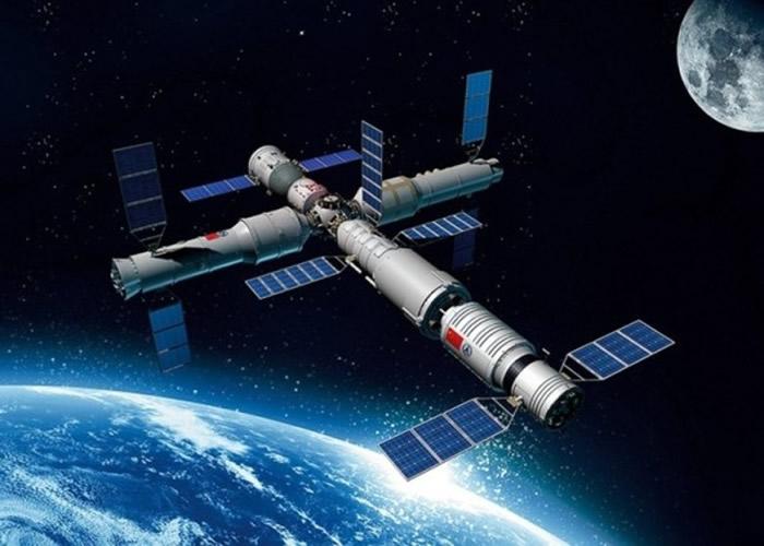 中国将在2022年前后完成空间站的建造并投入营运 可载3人