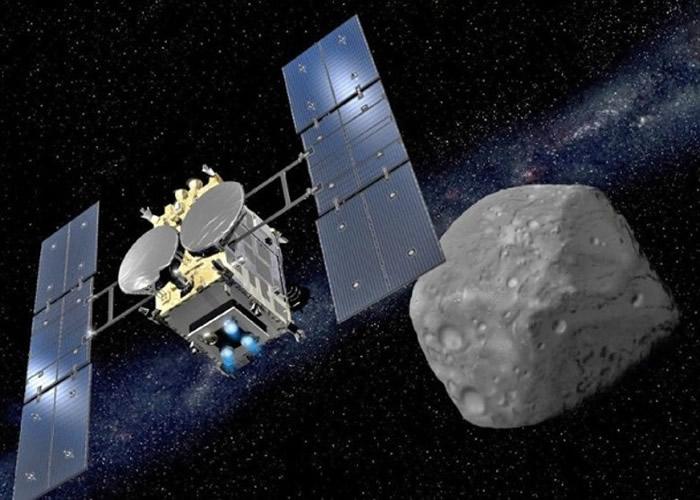 隼鸟2号明年底将带龙宫的岩石样本返回地球。