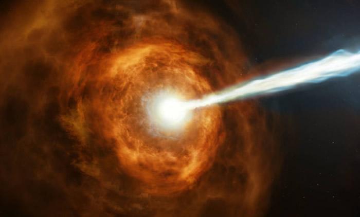 伽马射线大爆发GRB 190114C:1秒内喷发的能量超过太阳100亿年中所发出的量