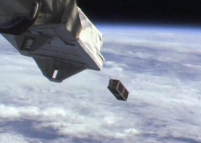 日本福井县企业参与生产人造卫星 从国际空间站释放到太空