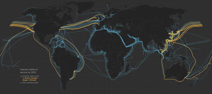 利用海底光缆监测和记录海洋地震的潜力