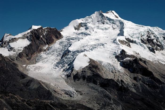 研究人员以玻利维亚的Zongo冰川(图)作研究评估。