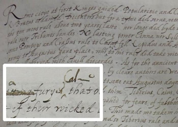专家认为,手稿笔迹与女王晚期风格相符。