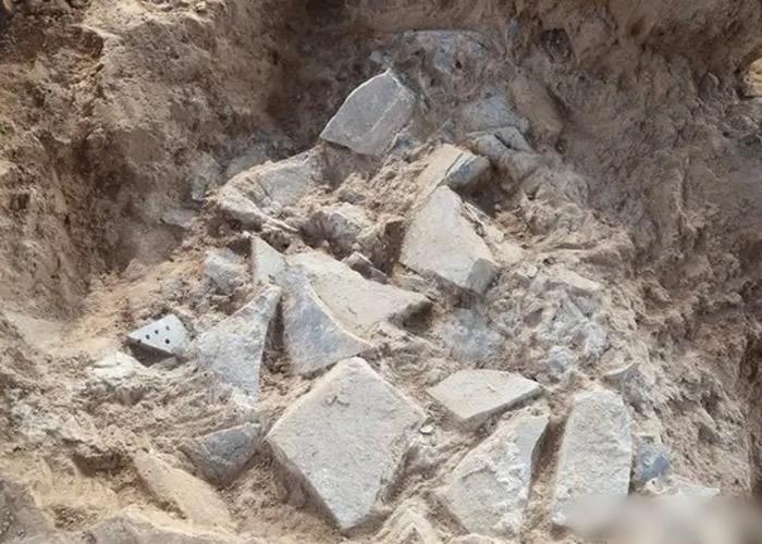 秦朝首都咸阳城核心保护区发现石铠甲制坊遗址 证是秦始皇军工厂之一