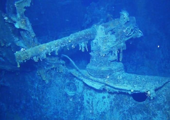 福克兰群岛海底发现一战时遭英国击沉的德国巡洋舰沙恩霍斯特号(SMS Scharnhorst)残骸