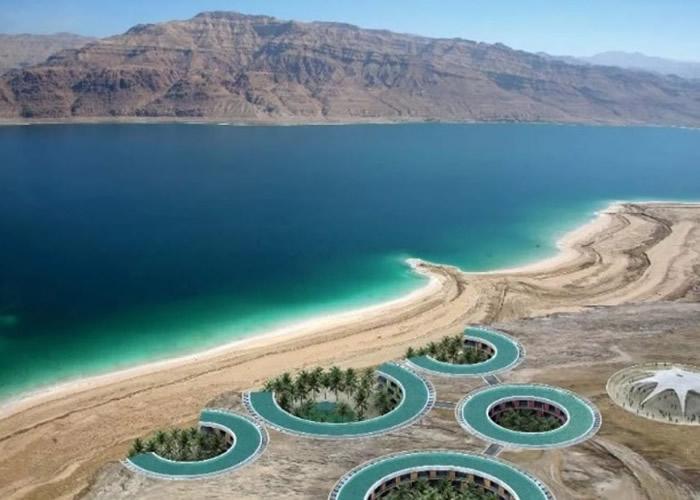 死海(图)是目前已知地球陆地最低的地方。