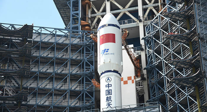 中国已做好准备第三次发射自己最大的长征五号运载火箭