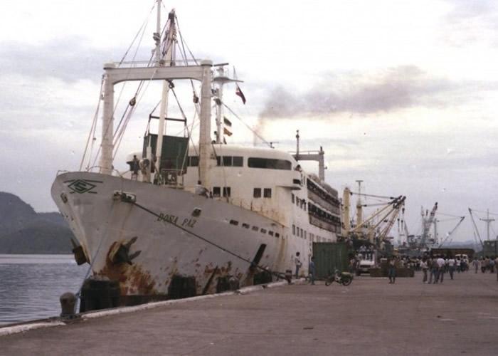 MV Dona Paz号原貌。