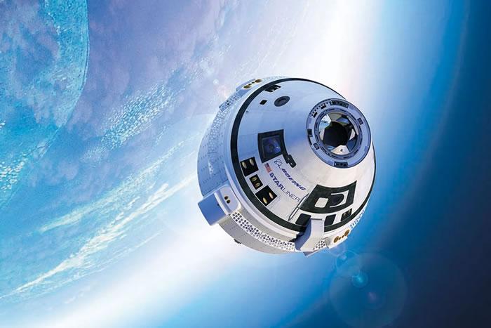 """美国波音""""星际客机""""Starliner飞船首次太空任务失败 返回地球降落在沙漠中"""