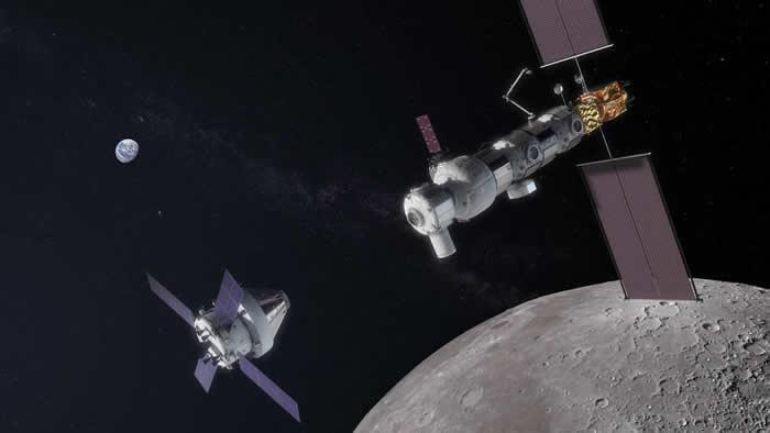 """俄罗斯决定重启谈判磋商参加美国""""门户""""(Gateway)环月轨道站项目问题"""
