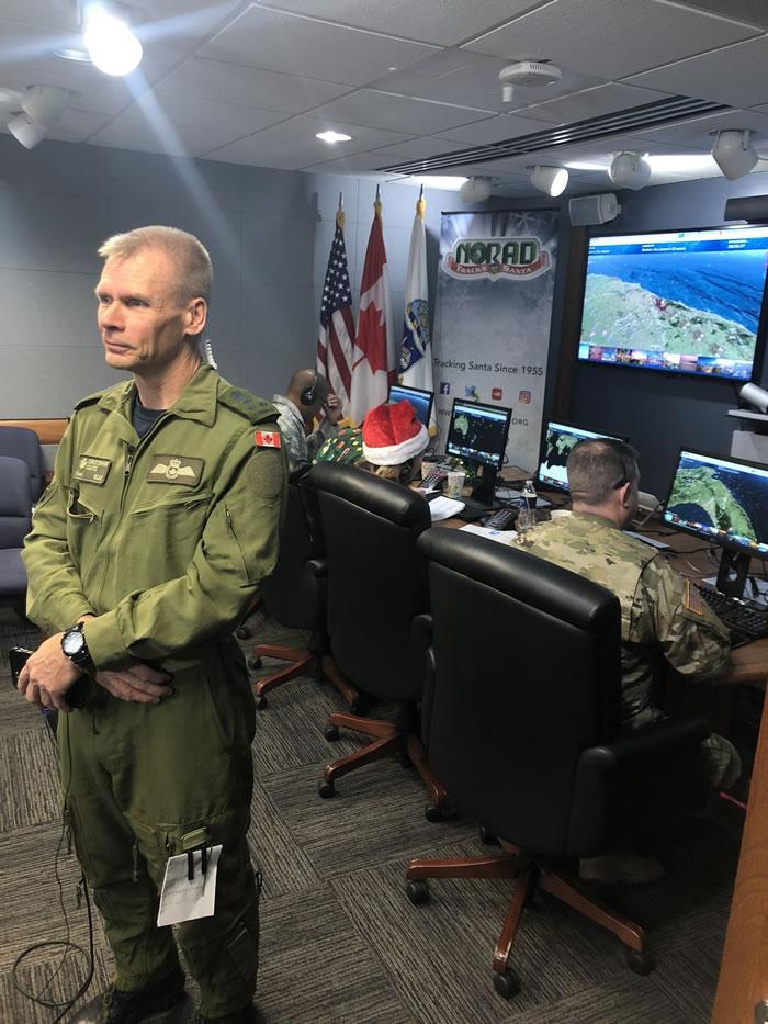 北美防空司令部2019年追踪耶诞老人指挥中心正式启动