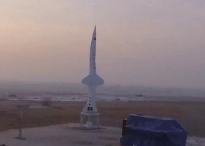 """北京凌空天行科技公司的亚轨道火箭""""天行Ⅰ""""遥2火箭成功试射 可回收重复使用"""