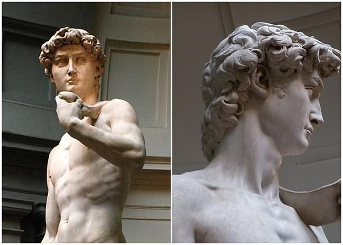 """""""大卫像""""现亢奋颈静脉扩张 印证意大利文艺复兴时代大师米高安哲罗有丰富解剖学知识"""