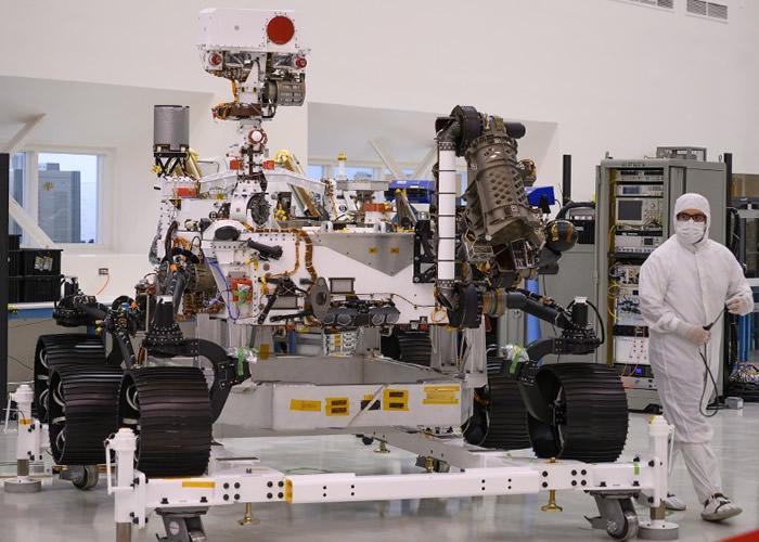 "NASA公布""火星2020""探测车 为人类登陆做准备"
