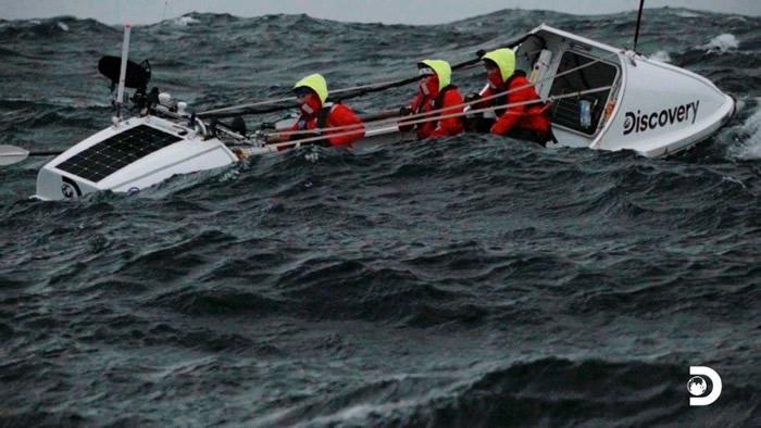 6人划艇队完成创举 横越德雷克海峡抵南极洲