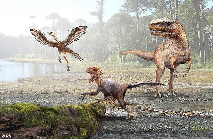 """恐龙体型""""缩水""""为温血哺乳动物出现铺平道路"""