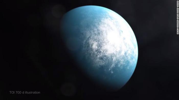 首个可能适合人类居住的地球大小的系外行星TOI 700 d被发现
