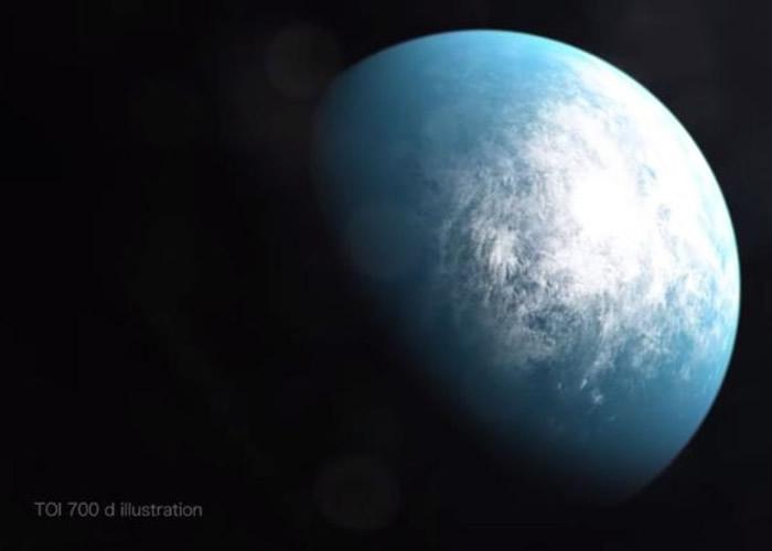 凌日系外行星勘探卫星发现围绕剑鱼座红矮星TOI 700运转的系外宜居行星TOI 700d