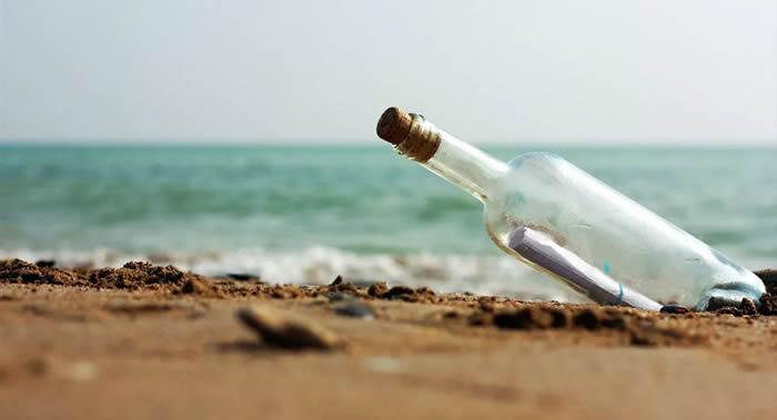 漂流瓶帮助理解海洋洋流