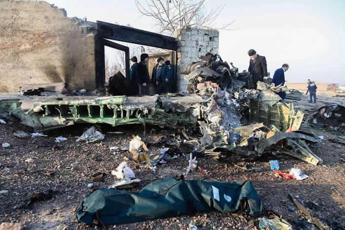 乌克兰国际航空PS-752班机被伊朗飞弹击中?