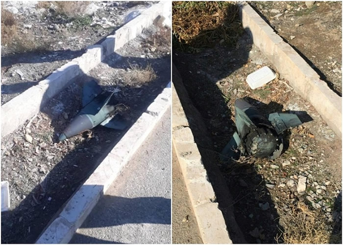 有人声称在坠机现场发现导弹残骸。