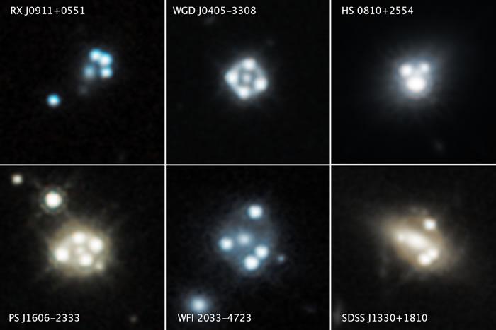 哈勃望远镜观测首次发现暗物质小团块的证据