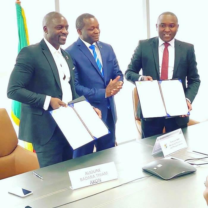 美国说唱歌手兼商人阿肯·蒂亚姆称将在塞内加尔打造一座自己的城市