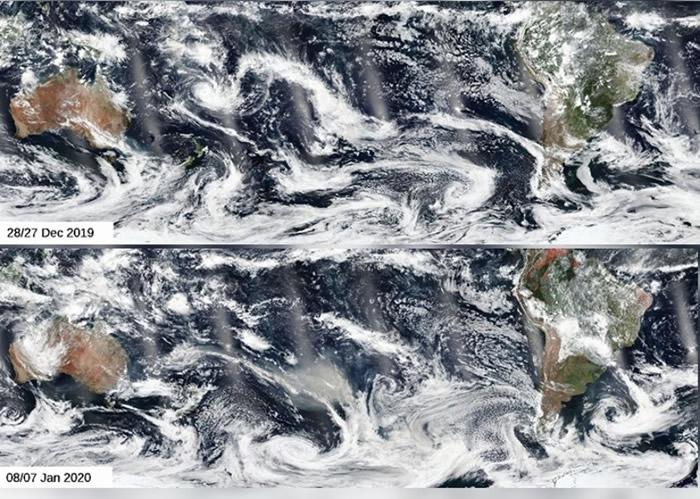 澳洲山火烟尘或环绕地球一周 墨尔本空气质素最差