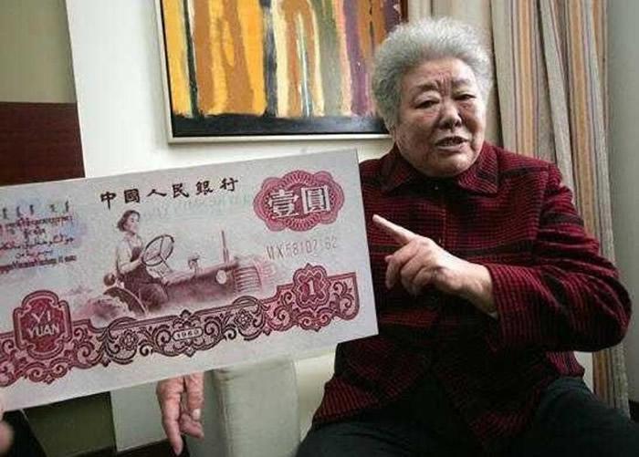 早年发行的人民币曾以梁军为原型创作。