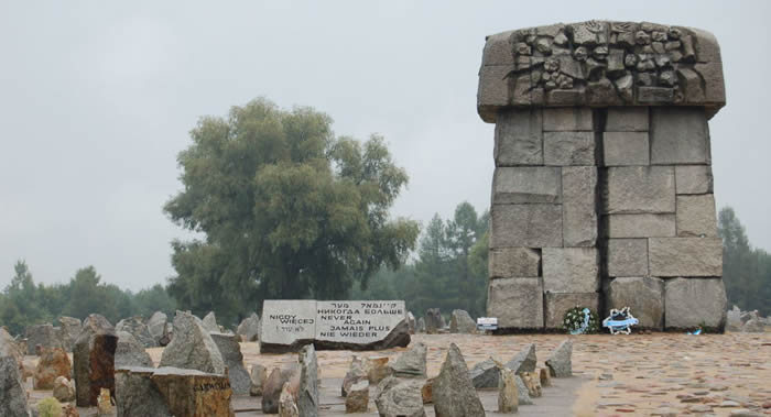 二次大战期间波兰特雷布林卡死亡集中营中至少有500名英国人和美国人被杀害