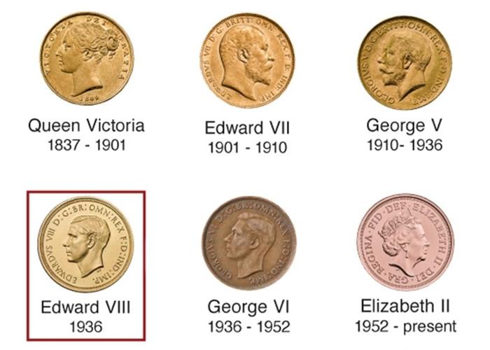 传世仅得6枚 英国前国王爱德华八世硬币100万镑售出