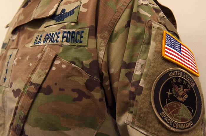美国太空部队的新迷彩制服遭到网友嘲笑