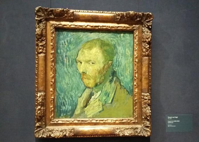 荷兰后印象派著名画家梵高1889年自画像真假成疑 专家证真品