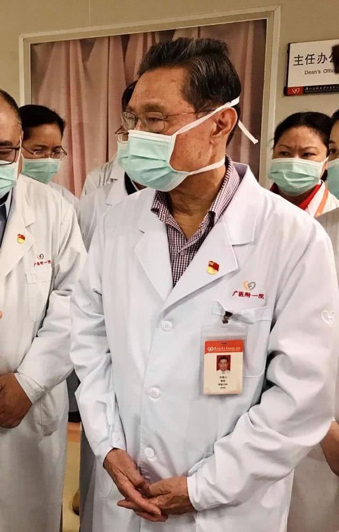 新型冠状病毒早期主要表现症状 钟南山院士称已有几种药物准备用于临床治疗