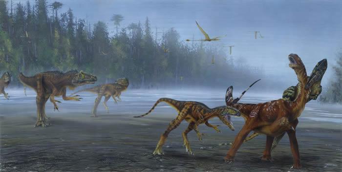 古生物学家在美国犹他州发现新恐龙 命名为异特龙Jimmadseni
