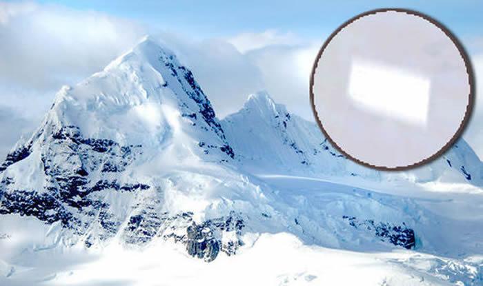 """谷歌地球在发现南极洲神秘""""建筑"""""""