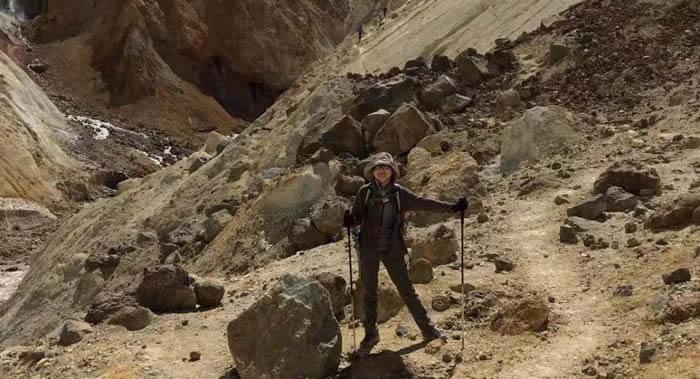 """冰与火之歌——张丹丹在俄罗斯堪察加冰川火山的""""冒险之旅"""""""