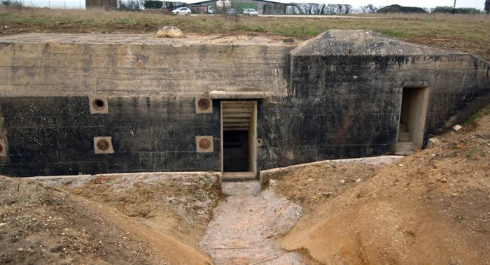 法国诺曼底海岸发现二战纳粹秘密掩体 1944年D日登陆期间对付盟军部队
