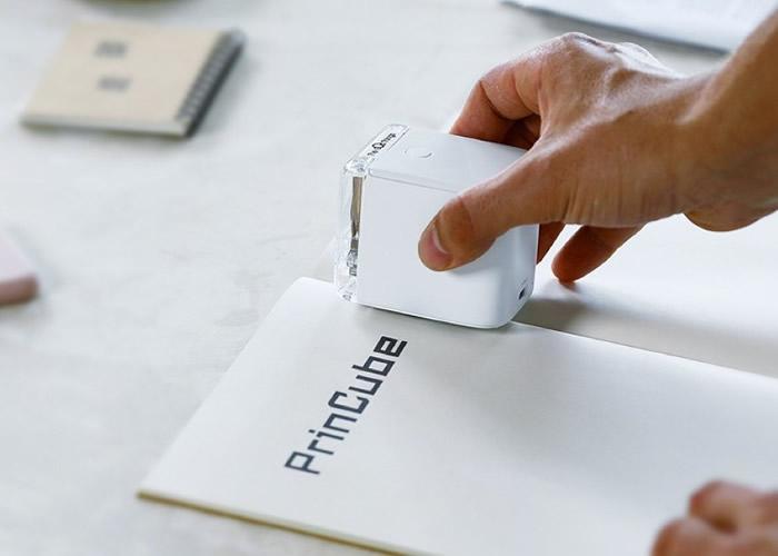 """美国全新便携式彩色打印机""""PrintCube""""打破传统限制"""