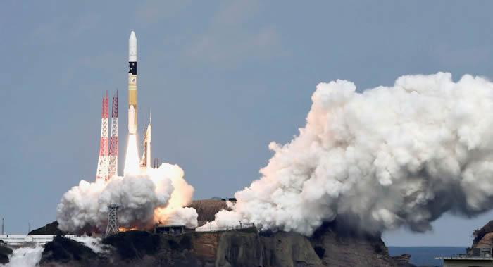 """日本用于收集信息的""""光学7""""号间谍卫星被H2A运载火箭成功送入轨道"""